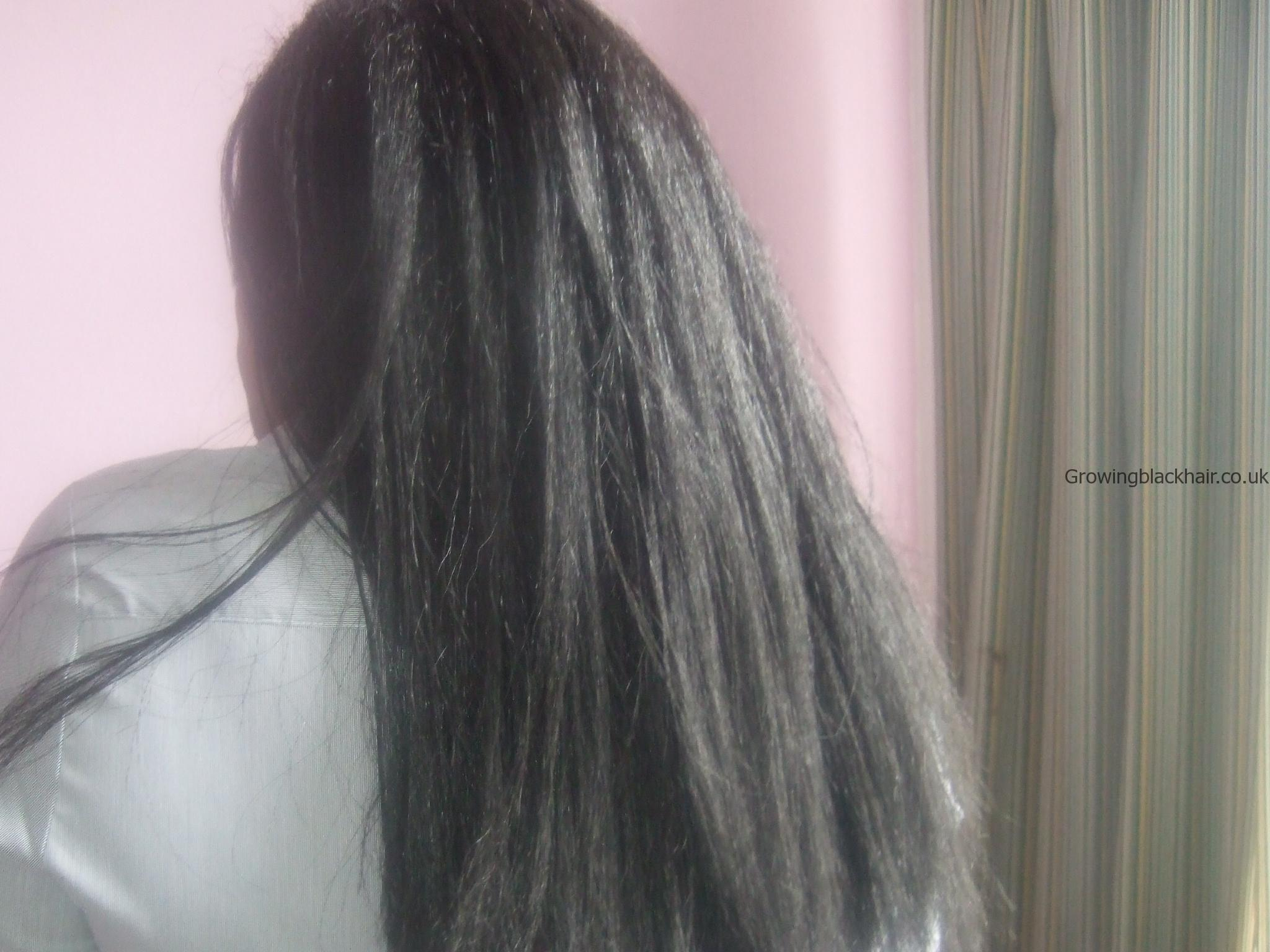 Black natural hair care - Crochet braids Growing black hair